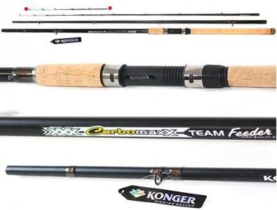 Риболовна пръчка Konger - Carbomaxx Feeder