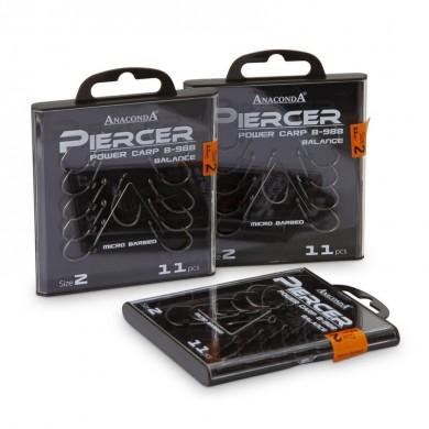 Куки Anaconda Power carp 988-Piercer